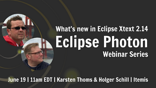 Eclipse Photon Series: What's New in the Eclipse XText 2.14?