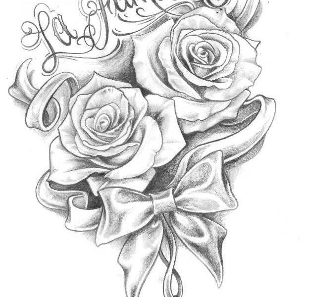 40 rose zeichnen einfach  besten bilder von ausmalbilder