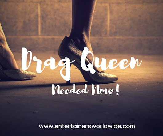 Seeking Drag Queen Act - Wedding 21st December 2018 South West London
