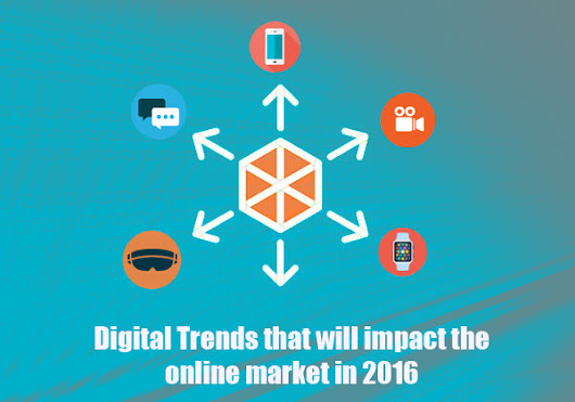 5 Digital Trends that will impact the online market in 2016 -