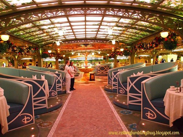 Enchanted Garden - Disney Cruise