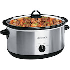 Crock-Pot Oval Manual Slow Cooker, Stainless Steel - 7 qt