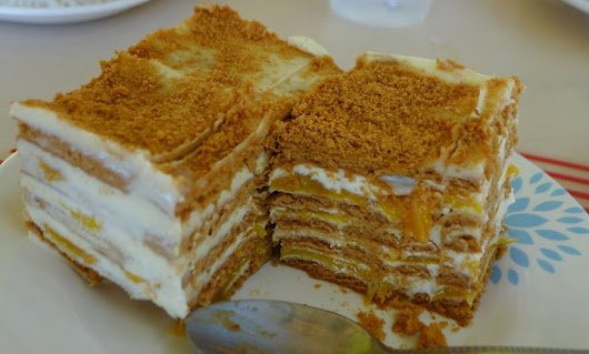 Filipino Mango Float