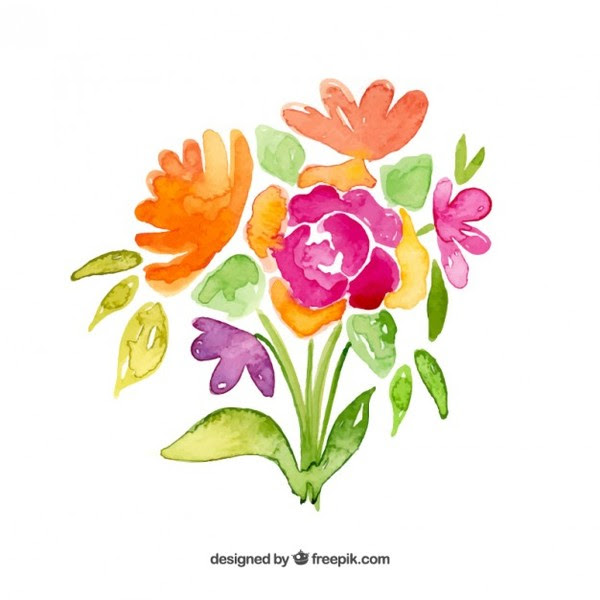 Bunch Of Flowers Clip Art Free Clip Art Library