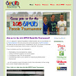S.P.U.D. Tennis Tournament Website | hpdDesign