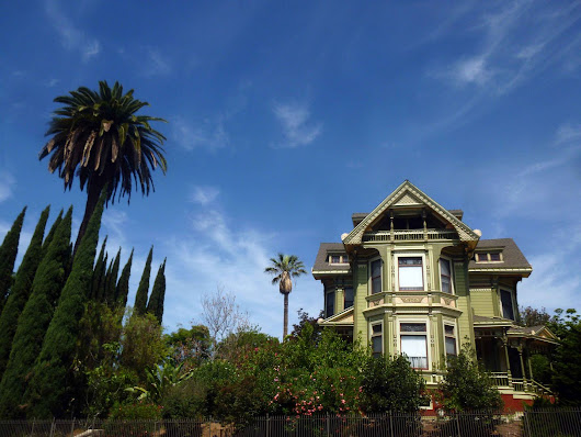 Photo Essay: The Creepiest Street in LA, With Zombie Houses and A Witches' Lair