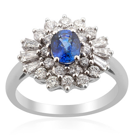 Sapphire wedding rings look as stunning as diamond rings and are becoming a