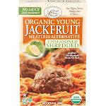 Edward & Sons Jackfruit, Young Organic, Meatless Alternative, Unseasoned Shredded - 7 oz