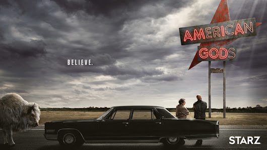 Neil Gaiman's American Gods series will premiere on April 30th