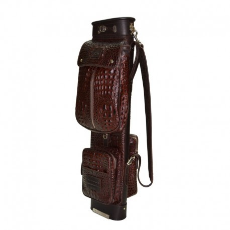 Alligator Travel Leather Golf Bag