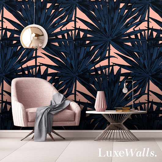 Embrace Spring & Summer trends with removable wall paper...