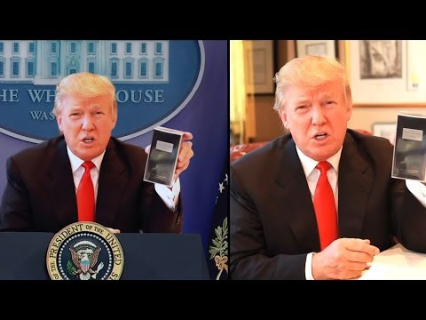 President Trump Addresses the Nation - Side-by-Side Comparison