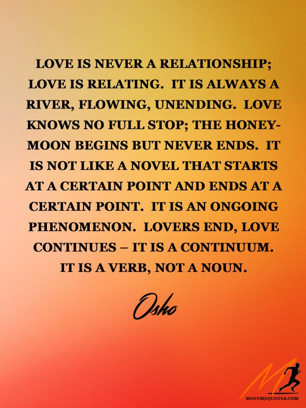 Love Is A Verb Moveme Quotes