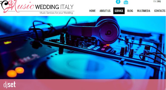 "Music Wedding on Twitter: ""#djset #musicwedding #Italy  the better soundtrack at your wedding party  """