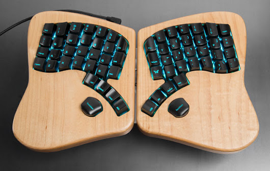 $299 buys you the ergonomic keyboard your wrists deserve