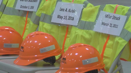 MnDOT Worker Memorial Day Promotes Construction Season Safety