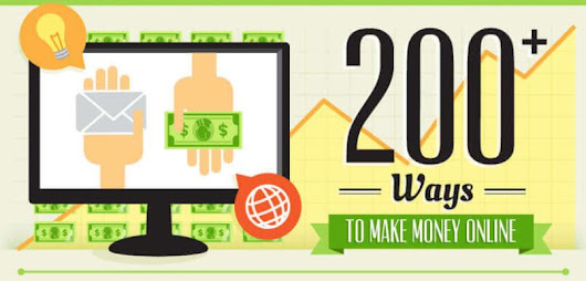 200+ Genuine and Working Ways To Make Money Online