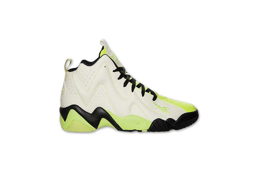 Glow in the Dark Reebok Kamikaze II Basketball Shoes $55
