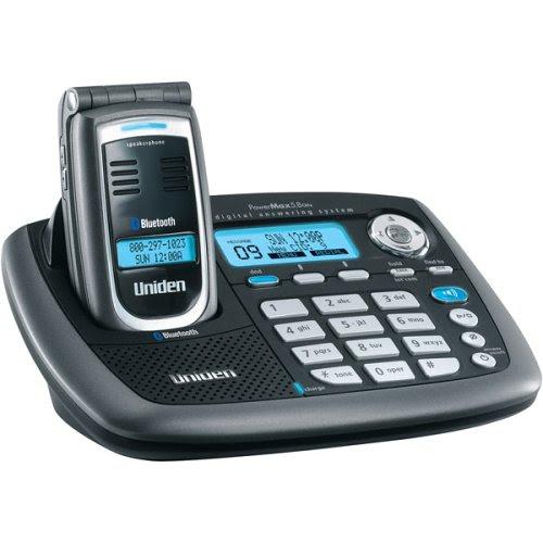 Uniden Cordless Phones Manual: Uniden CellLink ELBT595 5.8 GHz Digital Expandable Cordless Flip ...