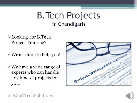 B Tech Projects in Chandigarh - Training and Guidance Support