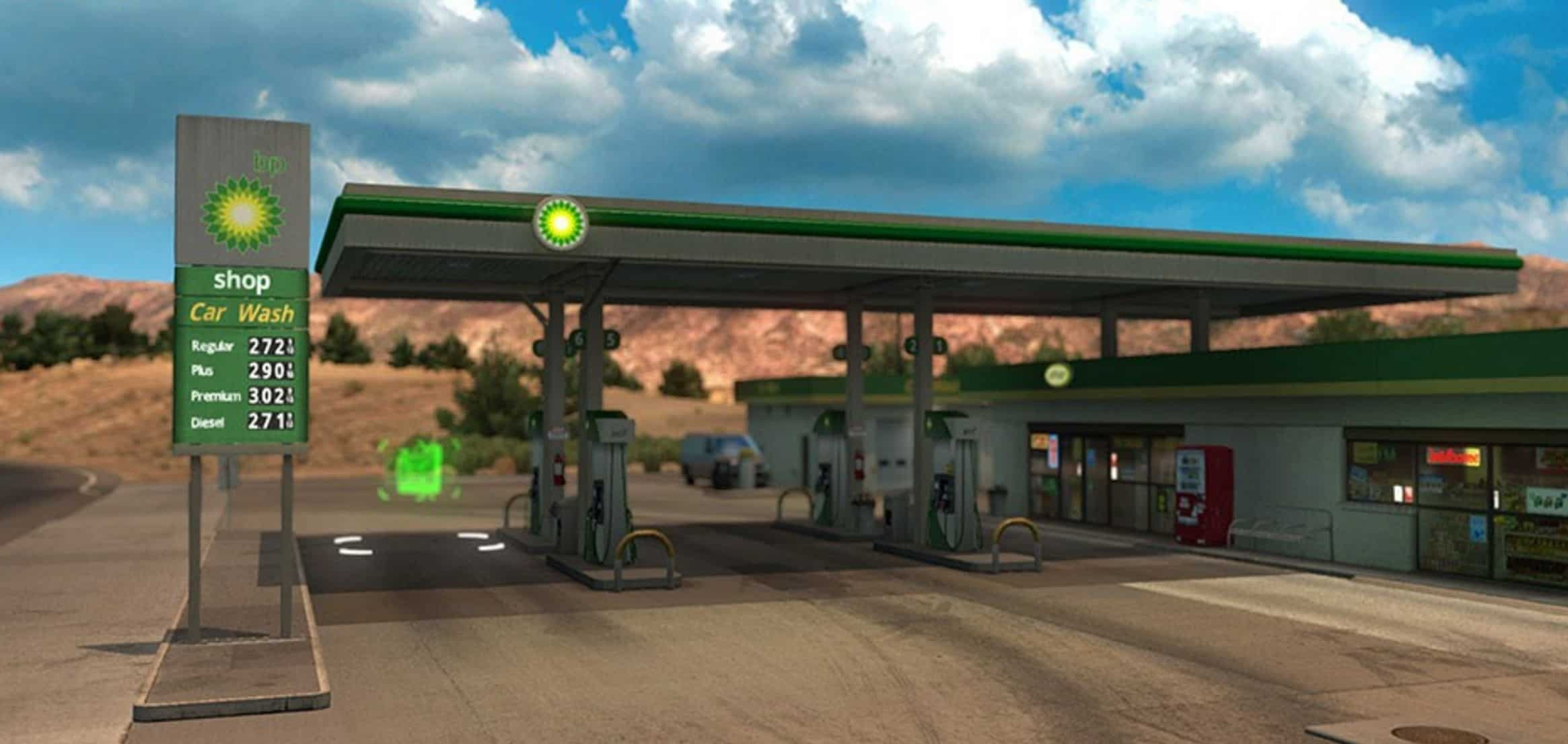 Real Gas Stations v 1
