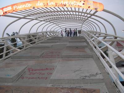Puente de la amistad en Boca del Río