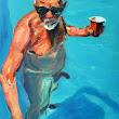 SubmissionFriday:  An Old Man With A Drink by... | SFMOMA