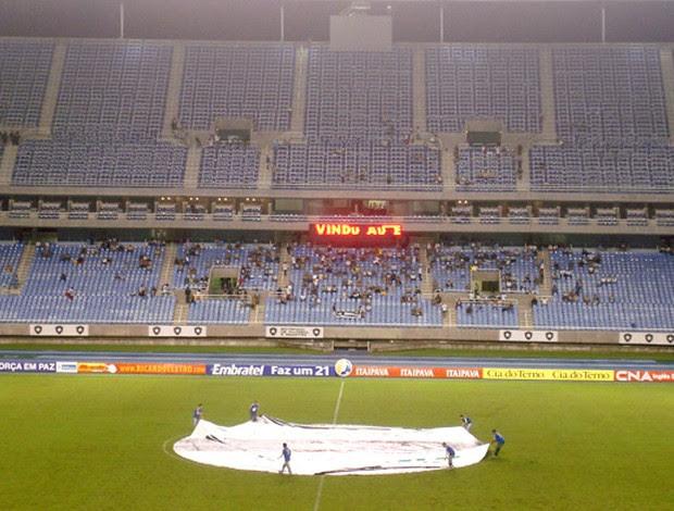 estádio Engenhão vazio para Botafogo x Madureita, 02/04/2009