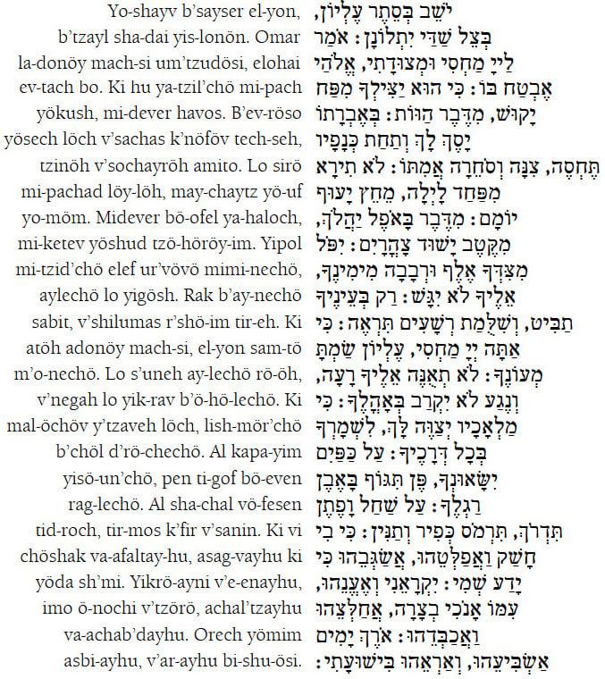 Bildergebnis für psalm 91 english