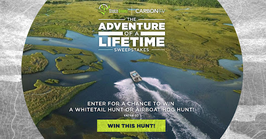 Enter the Adventure of a Lifetime Sweepstakes - Stickin Dreamz Sweepstakes | CarbonTV