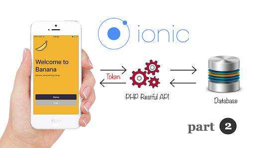 Ionic 3 and Angular 4: JSON Parsing with Token Based Restful API