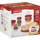 Rubbermaid Easy Find 18-Piece Lid Food Storage Containers