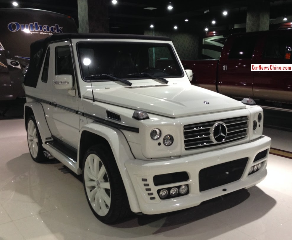 Spotted in China: ART Mercedes-Benz G500 Cabriolet ...