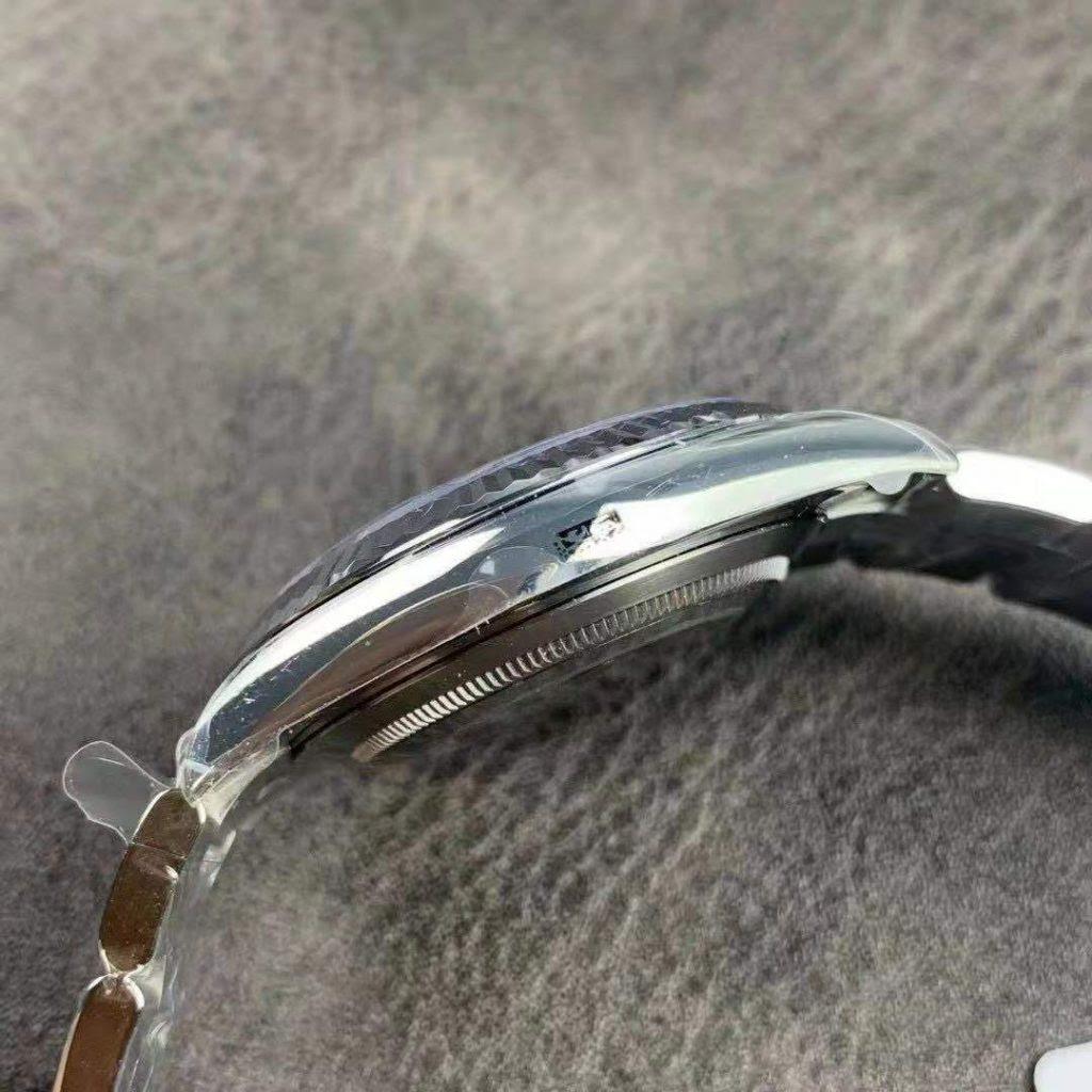 Rolex Datejust Silver Case
