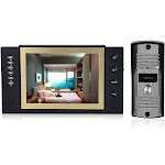 home security 8-inch lcd color video door phone intercom system