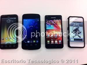 Samsung Galaxy Nexus GT-I9250 (10) - Smartphones comparados