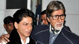 अमिताभ बच्चन और शाहरुख खान