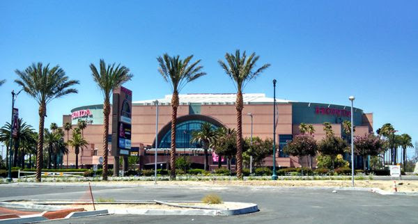 Honda Center...the home of the 2007 Stanley Cup champion, Anaheim Ducks.