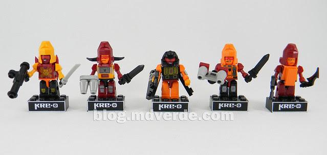 Transformers Predaking Kre-O - modo robots