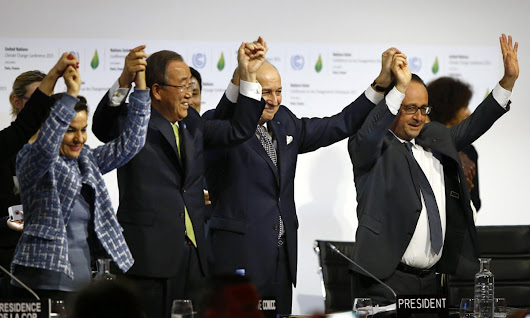 Leonardo DiCaprio and Fred Krupp: five ways to deliver on the Paris climate talks