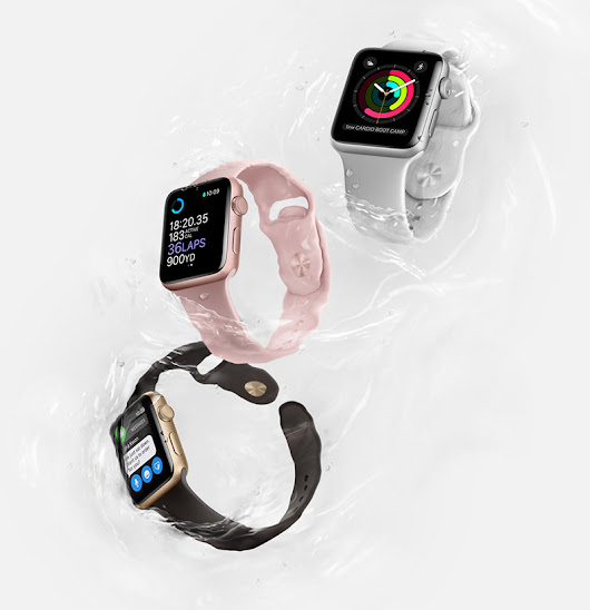 Apple unveils Apple Watch Series 2 and Apple Watch Nike+ - EyeOnMobility