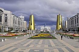 Astana: il palazzo presidenziale