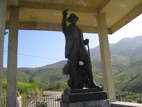 G.A. Carver Marsh, the founder of Valparai