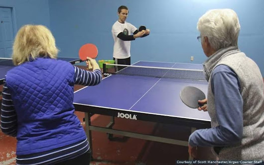 Table tennis goes high tech at new academy