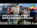 Graban a una pareja acosando a un vendedor callejero de origen hispano por tratar de vender fruta en EE.UU.