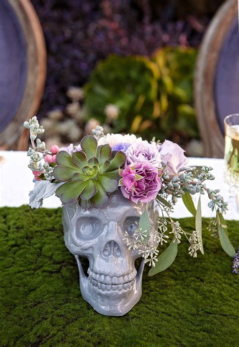 A SPRING STYLE SOIREE WITH A BEAUTIFUL TWIST ON SKULL