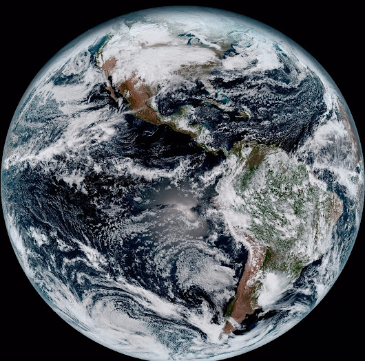 GOES-16 Sends First Images to Earth