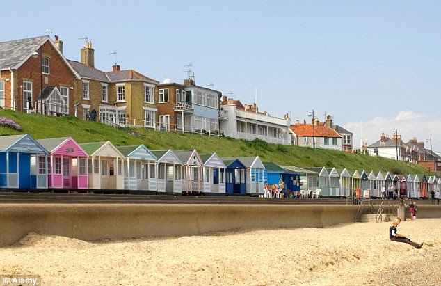 Half of people in Southwold in Suffolk are aged over 65, the highest proportion of any seaside town in the country