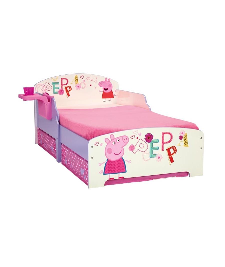 Dormitorio Muebles Modernos Peppa Pig En La Cama # Muebles De Peppa Pig