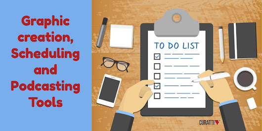 12 Tools To Improve Visual Marketing, Business Scheduling, and Podcasts